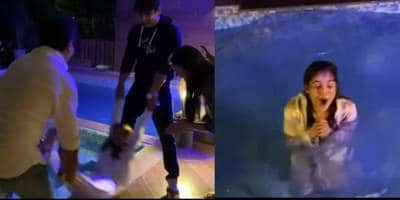 Sidharth Shukla Throws Shehnaaz Gill Into The Pool On Her Birthday, Latter Shares A Glimpse Of The Celebrations