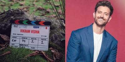 Hrithik Roshan begins shoot of Vikram Vedha on the occasion of Dusshera; shares post about 'new beginnings'