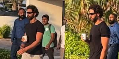 Vikram Vedha remake: Hrithik Roshan is back on sets after 2 years, makes a filmy entry; watch...