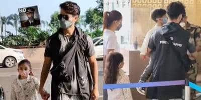 "Shahid Kapoor dons a 'no photography' jacket at the airport, fans say ""Khud hi bulate hain paparazzi ko, phir khud hi drame karte hain"""