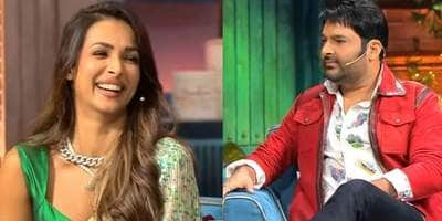 Malaika Arora asks Kapil Sharma where he found time to make two kids, he replies when the channel airs CID after his show; Watch