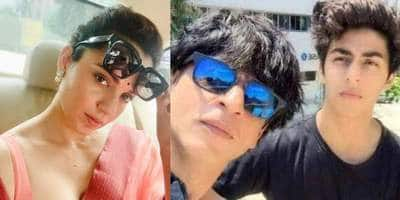 Kangana Ranaut wants Shah Rukh Khan to apologise like Jackie Chan after Aryan Khan's arrest in drug case?