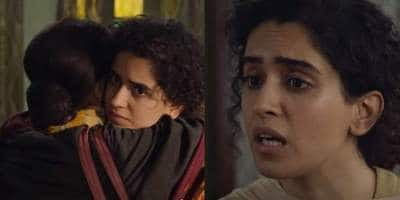Pagglait: Sanya Malhotra Aka Sandhya Is Unable To Cry Even At Her Husband's Death In The Teaser Of This Netflix Film; Watch...