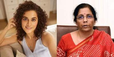Taapsee Pannu Breaks Silence On IT Raids; Slams FM Nirmala Sitharaman For Her Statement About 2013 Raid