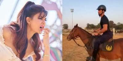 Jacqueline Fernandez Reveals Her First Look From Bachchan Pandey; Vicky Kaushal Returns To Horse Riding