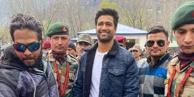 Vicky Kaushal Visits The Uri Base Camp After Receiving An Invitation, Conveys His Heartfelt Thanks