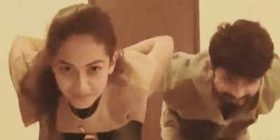 Shahid Kapoor And Wife Mira Rajput Take On The 'Gravity Challenge'; See Video
