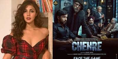 Chehre: After Rhea Chakraborty Goes Missing From Teaser, Producer Reveals They Have Decided Not To Talk About Her