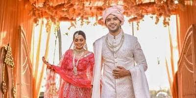 Yeh Jaadu Hai Jinn Ka Actor Vikram Singh Chauhan Ties The Knot With Girlfriend Sneha Shkukla; See Picture..
