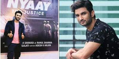 "Zuber Khan Who Plays Sushant Singh Rajput In Nyay Reacts To Criticism Says, ""I Know Him More Personally Than You Guys"""