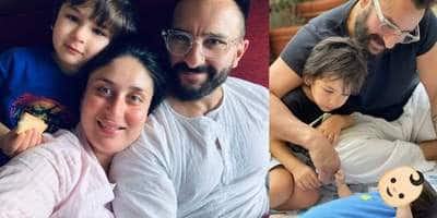 Kareena Kapoor Khan's Weekend Looks Bright With Saif, Taimur And Her Newborn