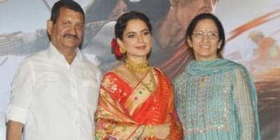 Kangana Ranaut Celebrates Parents' Wedding Anniversary With A Precious Throwback Picture; See Post