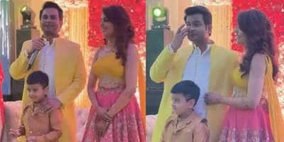 Sanket Bhosale Tears Up During His Engagement Speech, Wife Sugandha Calls It 'Moment Of Love'