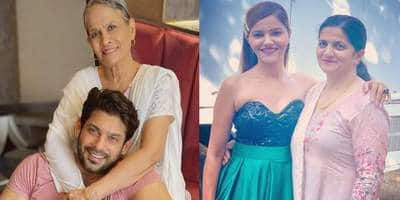 Sidharth Shukla Shares An Adorable Snap On Mother's Day; Rubina Reveals How Her Mom Is Helping Her Recover
