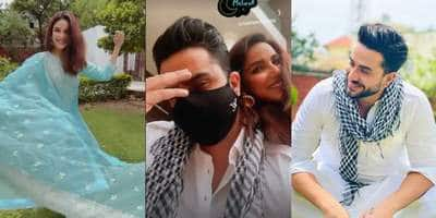 Eid 2021: Take A Peek Into Jasmin Bhasin And Aly Goni's Homely Celebrations Which Also Included Salman Khan's Radhe