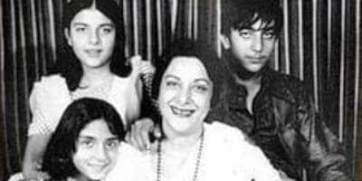 Sanjay Dutt, Priya Dutt Pay Tribute To Mother Nargis On Her 40th Death Anniversary - DesiMartini