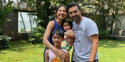 Shilpa Shetty's Husband Raj Kundra, Kids Viaan & Samisha Test Positive For Covid-19 Along With Her In-Laws, She Tests Negative