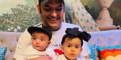 फादर्स डे: कपिल शर्मा ने पहली बार शेयर की अपने बेटे त्रिशान की तस्वीर; बेटी अनायरा भी साथ