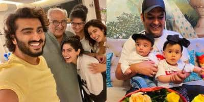 Arjun Kapoor enjoys Father's Day dinner; Kapil Sharma shares son Trishaan's first picture with daughter Anayra