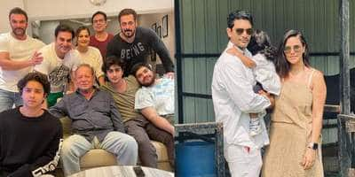 Salman Khan celebrates Father's Day with family; Angad Bedi thanks Neha for capturing his happy moments with daughter Mehr