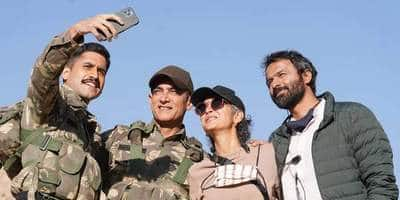 Aamir Khan and team complete Laal Singh Chaddha; receive warm welcome from Kargil administration