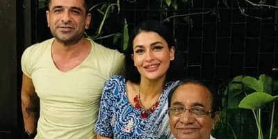 Eijaz introduces Pavitra Punia to his father