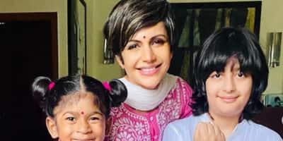 मंदिरा बेदी ने शेयर की बच्चों के साथ की हैपी तस्वीर, ऐसे मनाया रक्षाबंधन