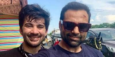 Karan Deol to collaborate with 'Chacha' Abhay Deol for a project, shares BTS pic on social media