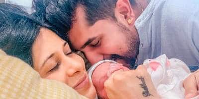 Kishwer Merchantt and Suyyash Rai welcome a baby boy; Share first family picture from hospital