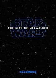 Star Wars: Episode IX - The Rise Of Skywalker