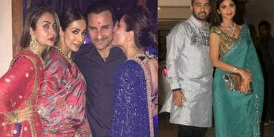 8 Patakha Photos From Kareena - Saif's Diwali Bash
