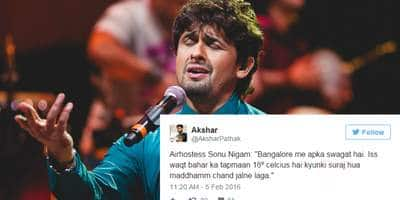 Sonu Nigam Gets Trolled For Singing In-Flight On Twitter And You Won't Stop Laughing!