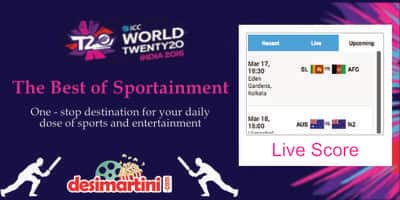 Here's Your One Stop Destination To Best Sports Movies And World T20 Live Scorecard