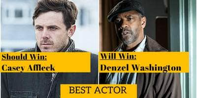 Oscars Predictions 2017: Who Should Win & Who Will Win