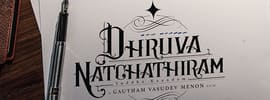 Dhruva Natchathiram movie poster