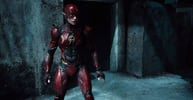 The Flash still shot from Justice league