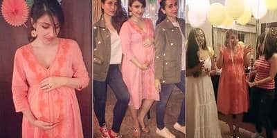 In Pictures: Soha Ali Khan Celebrates Her Baby Shower With Kareena Kapoor And Other Bollywood Friends!