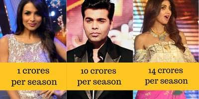 15 Bollywood Celebrities And How Much Money They Make By Judging Reality Shows On TV