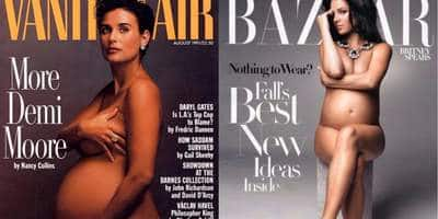 15 Most Aesthetically Shot Nude Photoshoots Of Pregnant Celebs