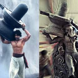 Prabhas' Pose From Bahubali Inspire Ganesha Idols Makers