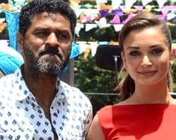 Amy Jackson To Sing For Prabhu Deva?
