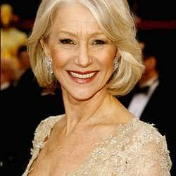 Dame Helen Mirren: Likes the idea of retiring, but never seems to get any nearer doing it