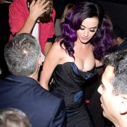 Katy Perry celebrates with Pattinson, Bieber, Selena after premier of her movie