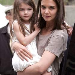 Katie Holmes doing better after filing for divorce from Tom Cruise