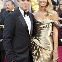 George Clooney breaking up with Stacy Keibler?